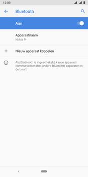 Nokia 9 - bluetooth - aanzetten - stap 8