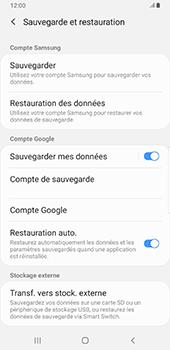 Samsung Galaxy S9 Plus - Android Pie - Données - créer une sauvegarde avec votre compte - Étape 7