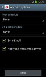 Samsung I8730 Galaxy Express - E-mail - Manual configuration - Step 16