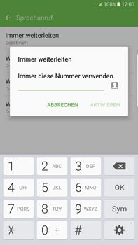 Samsung Galaxy S6 edge+ - Anrufe - Rufumleitungen setzen und löschen - 10 / 13