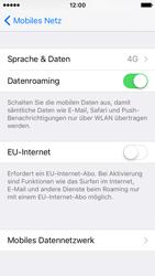 Apple iPhone SE - Netzwerk - Netzwerkeinstellungen ändern - 1 / 1