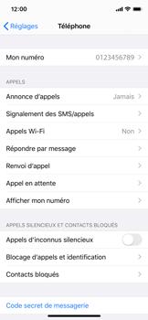 Apple iPhone 11 Pro - WiFi - Activez WiFi Calling - Étape 5