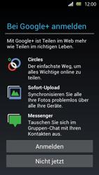 Sony Xperia U - Apps - Einrichten des App Stores - Schritt 10