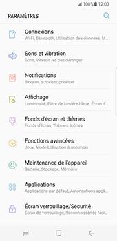 Samsung Galaxy S8 - WiFi - Configuration du WiFi - Étape 4