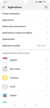 Huawei P Smart 2020 - Applications - Supprimer une application - Étape 4