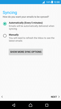 Sony Xperia Z5 Premium (E6853) - Android Nougat - E-mail - Manual configuration POP3 with SMTP verification - Step 22