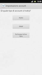 Sony Xperia S - E-mail - Configurazione manuale - Fase 7