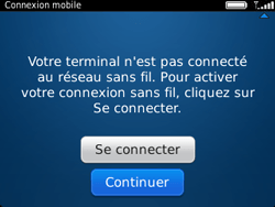 BlackBerry 9320 - Premiers pas - Créer un compte - Étape 8