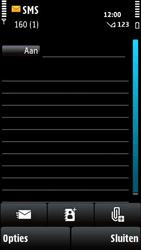 Nokia X6-00 - MMS - hoe te versturen - Stap 4