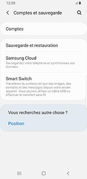Samsung Galaxy S9 Android Pie - Données - Créer une sauvegarde avec votre compte - Étape 5