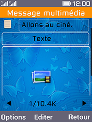 Archos F28 - Contact, Appels, SMS/MMS - Envoyer un MMS - Étape 12