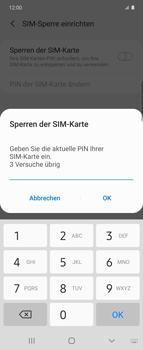 Samsung Galaxy Z flip - Startanleitung - So aktivieren Sie eine SIM-PIN - Schritt 8