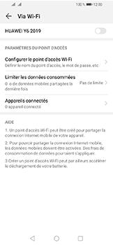 Huawei Y6 (2019) - Internet et connexion - Partager votre connexion en Wi-Fi - Étape 6