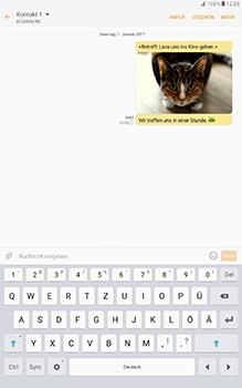 Samsung Galaxy Tab A 10-1 - MMS - Erstellen und senden - Schritt 26