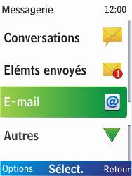 Nokia X2-00 - E-mail - Configuration manuelle - Étape 4