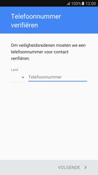 Samsung Samsung G920 Galaxy S6 (Android M) - Applicaties - Account instellen - Stap 7