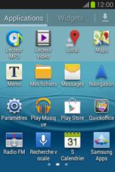 Samsung S6810P Galaxy Fame - MMS - Configuration manuelle - Étape 3