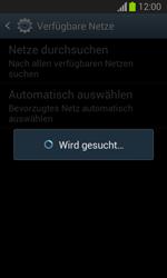 Samsung Galaxy Trend Lite - Netzwerk - Manuelle Netzwerkwahl - Schritt 7