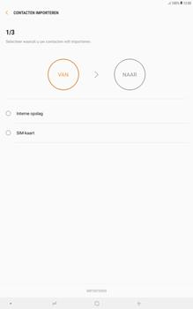 Samsung galaxy-tab-a-10-5-sm-t595 - Contacten en data - Contacten kopiëren van SIM naar toestel - Stap 9