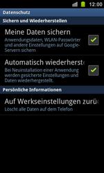 Samsung Galaxy Ace 2 - Fehlerbehebung - Handy zurücksetzen - 0 / 0