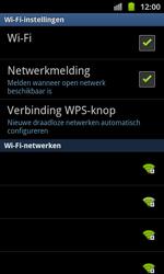 Samsung I8530 Galaxy Beam - wifi - handmatig instellen - stap 7