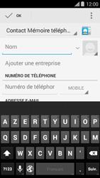 Bouygues Telecom Ultym 5 II - Contact, Appels, SMS/MMS - Ajouter un contact - Étape 5