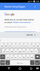 Sony Xperia XZ - Android Nougat - E-Mail - Konto einrichten (gmail) - Schritt 10