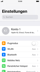 Apple iPhone 5s - Software - iCloud synchronisieren - 3 / 10
