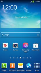Samsung C105 Galaxy S IV Zoom LTE - Internet - Automatic configuration - Step 3