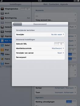 Apple iPad - E-mail - Handmatig instellen - Stap 14