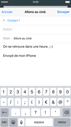 Apple iPhone 6 iOS 9 - E-mail - envoyer un e-mail - Étape 7