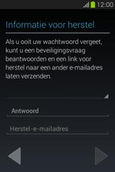 Samsung S6810P Galaxy Fame - apps - account instellen - stap 16