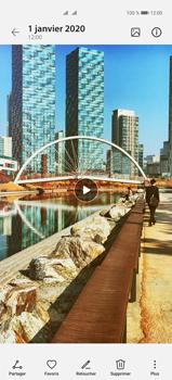 Huawei P40 Pro - Photos, vidéos, musique - Créer une vidéo - Étape 17