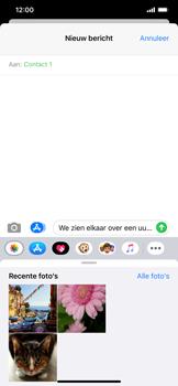 Apple iPhone XR - iOS 13 - MMS - afbeeldingen verzenden - Stap 10