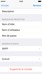 Apple iPhone 5c - E-mail - configuration manuelle - Étape 28