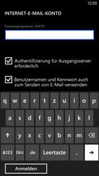 Nokia Lumia 1320 - E-Mail - Konto einrichten - Schritt 15