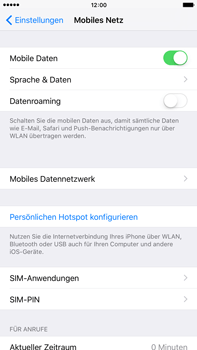 Apple iPhone 6 Plus iOS 9 - Internet und Datenroaming - Manuelle Konfiguration - Schritt 5