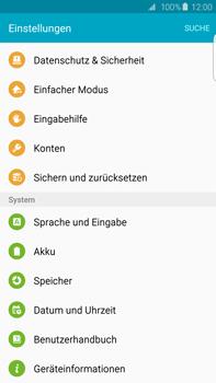 Samsung Galaxy S6 edge+ (G928F) - Software - Installieren von Software-Updates - Schritt 5