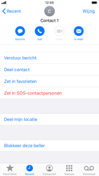 Apple iPhone SE (2020) (Model A2296) - Beveiliging en ouderlijk toezicht - Nummer blokkeren - Stap 5