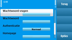 Nokia N97 - internet - handmatig instellen - stap 15
