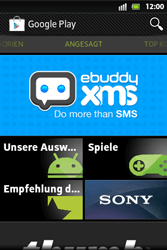 Sony Xperia Go - Apps - Konto anlegen und einrichten - 1 / 1