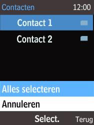 Nokia 225 (Type RM-1012) - Contacten en data - Contacten kopiëren van SIM naar toestel - Stap 9