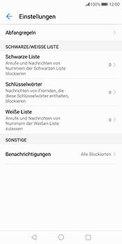 Huawei Mate 10 Pro - Anrufe - Anrufe blockieren - Schritt 6