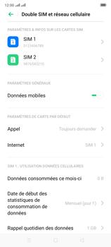 Oppo Reno 2 - Internet et connexion - Activer la 4G - Étape 5