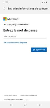 Samsung Galaxy A20e - E-mails - Ajouter ou modifier votre compte Outlook - Étape 8