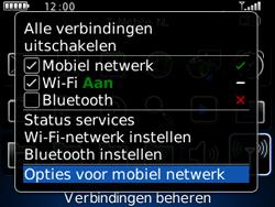 BlackBerry 8520 Curve - netwerk en bereik - gebruik in binnen- en buitenland - stap 4