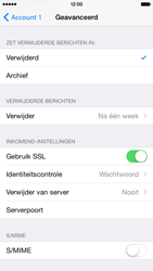 Apple iPhone 6 (Model A1586) - E-mail - Handmatig instellen - Stap 23