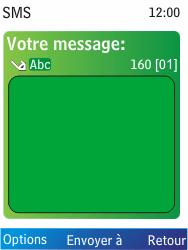 Nokia X2-00 - MMS - Envoi d