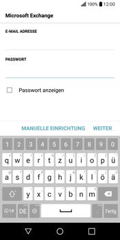 LG Q6 - E-Mail - Konto einrichten (outlook) - Schritt 8