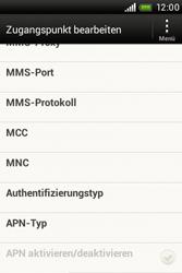HTC A320e Desire C - Internet - Manuelle Konfiguration - Schritt 12